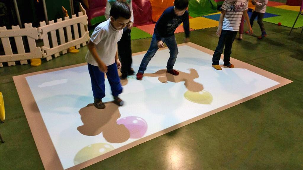 Children on AV floor