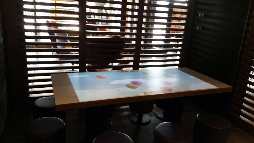 AV table ready